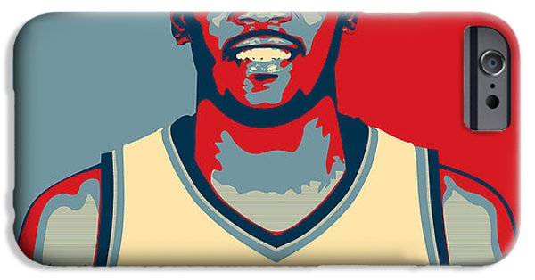 All Star Game iPhone Cases - Kevin Durant iPhone Case by Taylan Soyturk