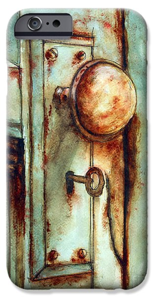 Recently Sold -  - Shed iPhone Cases - Key to Many Memories iPhone Case by Tim Ross