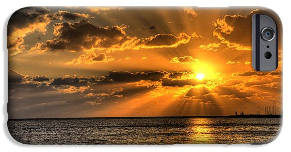 Keys Photographs iPhone Cases - Key West Sunset iPhone Case by Shawn Everhart