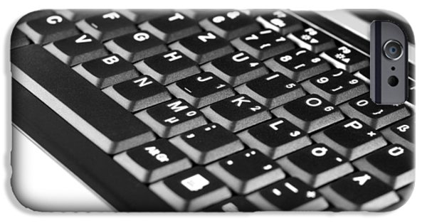 Electrical Equipment iPhone Cases - Keyboard iPhone Case by Chevy Fleet