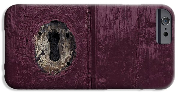 Architectur iPhone Cases - Keyhole iPhone Case by Joana Kruse