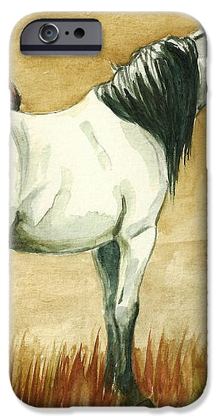 Kiger mares iPhone Case by Linda L Martin