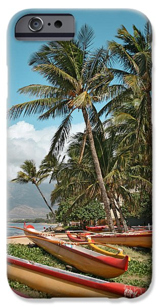 Kihei Maui Hawaii iPhone Case by Sharon Mau