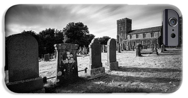 Gordon iPhone Cases - Kilmartin Parish Church iPhone Case by Dave Bowman