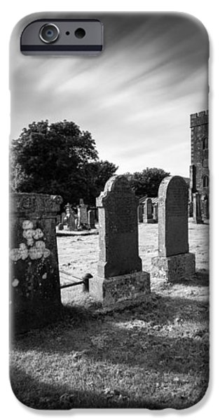 Kilmartin Parish Church iPhone Case by Dave Bowman