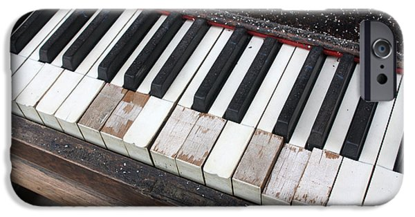 Piano iPhone Cases - Kimball Piano-3467 iPhone Case by Gary Gingrich Galleries