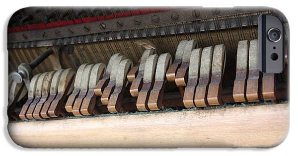 Piano iPhone Cases - Kimball Piano-3473 iPhone Case by Gary Gingrich Galleries