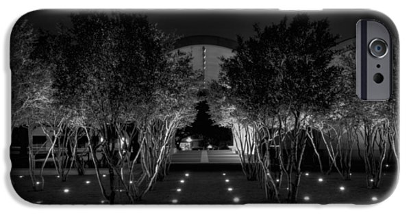 Proportions iPhone Cases - Kimbell After Dark iPhone Case by Joan Carroll