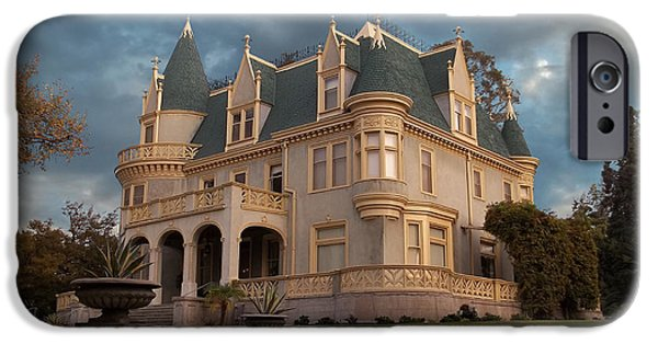 Haunted House iPhone Cases - Kimberly Crest - Victorian Splendor iPhone Case by Glenn McCarthy