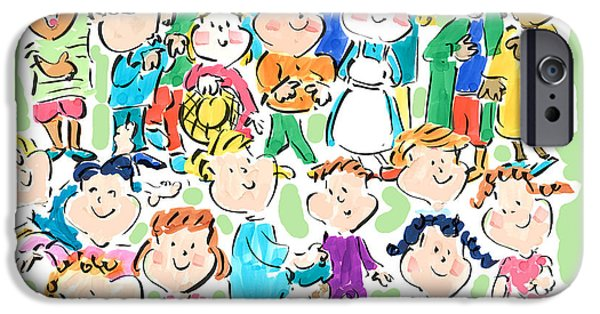 Sally Huss iPhone Cases - Kindness Matters iPhone Case by Sally Huss