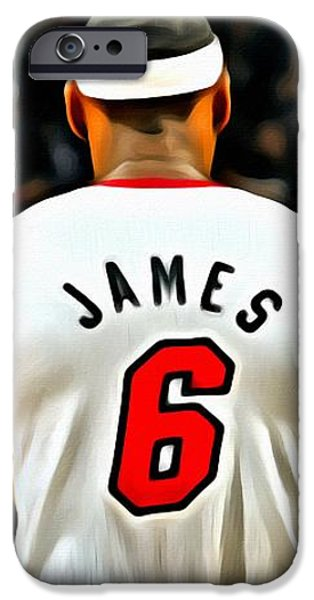 King James iPhone Case by Florian Rodarte