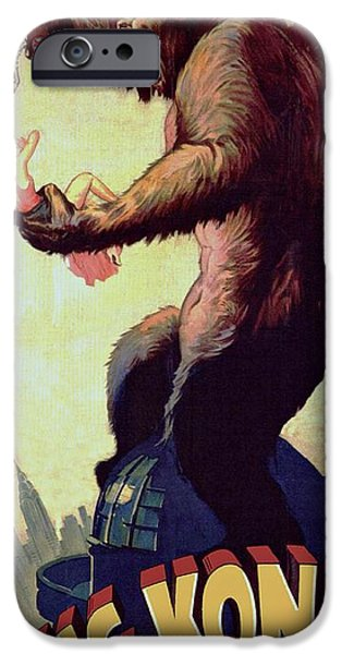 Fay iPhone Cases - King Kong  iPhone Case by Movie Poster Prints