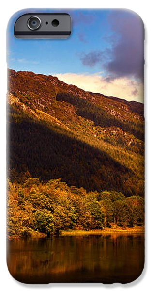 Kingdom of Nature. Scotland iPhone Case by Jenny Rainbow