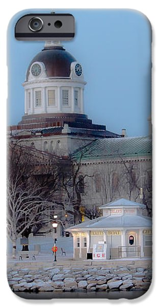 Kingston City Hall iPhone Case by Michel Soucy