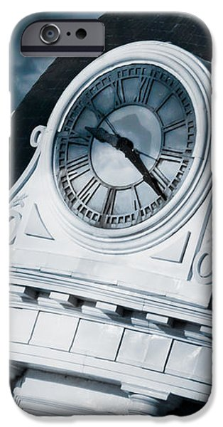 Kingstons' Clock iPhone Case by Michel Soucy