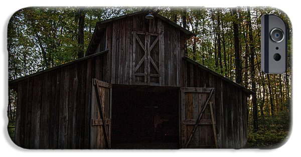Popular iPhone Cases - Kingsville Barn iPhone Case by Anthony Thomas
