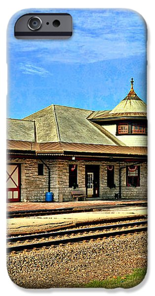 Kirkwood Station iPhone Case by Marty Koch