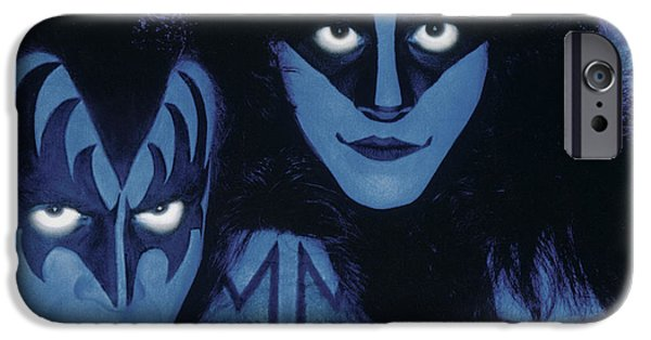 Glam Rock iPhone Cases - KISS - Creatures from the Night iPhone Case by Epic Rights