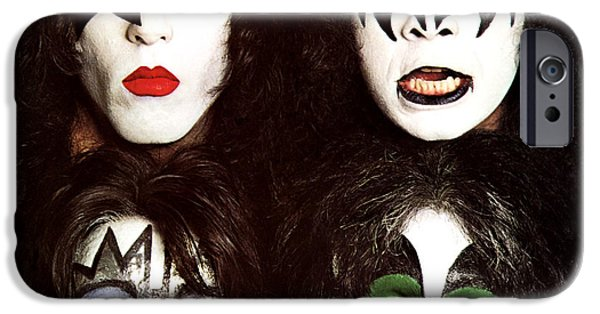 Glam Rock iPhone Cases - KISS - Dynasty iPhone Case by Epic Rights