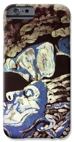 Couple Tapestries - Textiles iPhone Cases - Kiss Her iPhone Case by Kay Shaffer