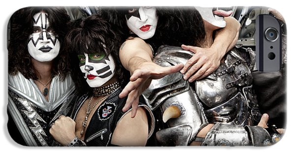 Glam Rock iPhone Cases - KISS - Monster (2012) iPhone Case by Epic Rights