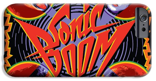 Glam Rock iPhone Cases - KISS - Sonic Boom iPhone Case by Epic Rights