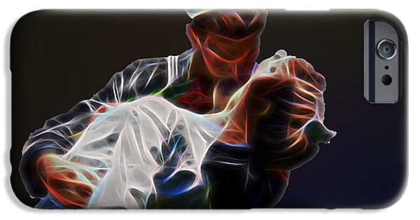 Young iPhone Cases - Kiss iPhone Case by Tom Gari Gallery-Three-Photography