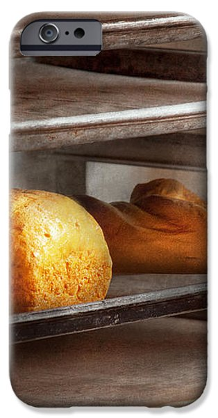 Kitchen - Food - Bread - Freshly baked bread  iPhone Case by Mike Savad