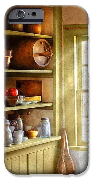 Kitchen - Kitchen Necessities iPhone Case by Mike Savad