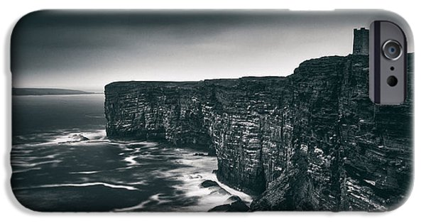 Rugged Coastline iPhone Cases - Kitchener Memorial iPhone Case by Dave Bowman