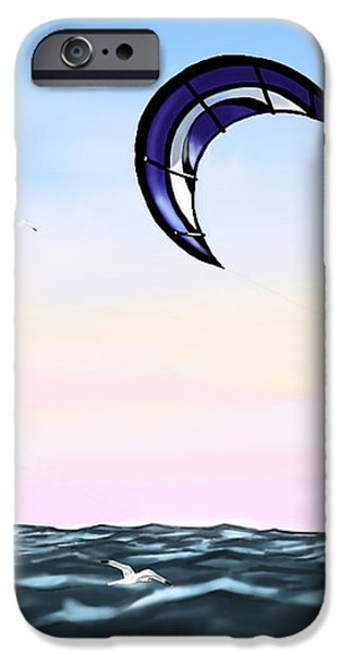 kite iPhone Case by Veronica Minozzi