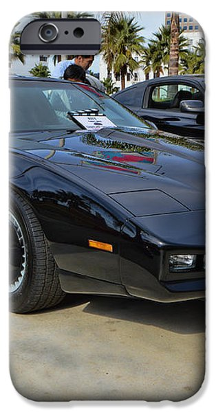 KITT iPhone Case by Tommy Anderson
