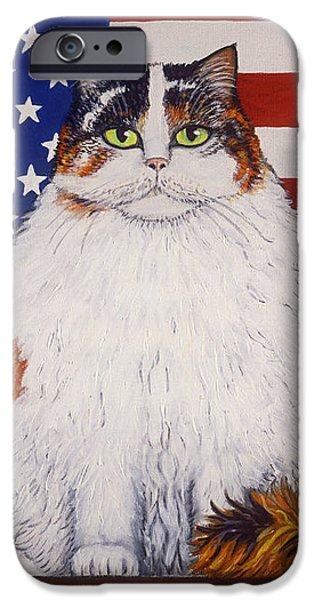 Kitty Ross iPhone Case by Linda Mears