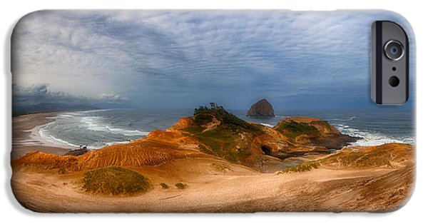 Pacific Ocean Prints iPhone Cases - Kiwanda Pano iPhone Case by Darren  White