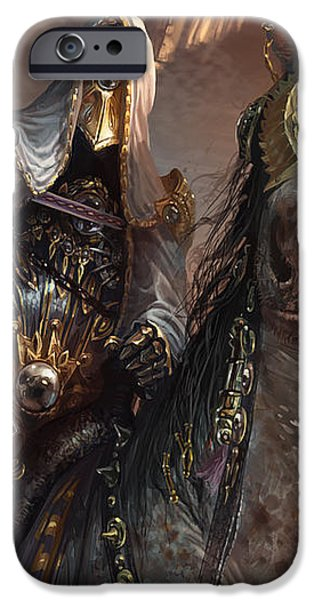 Knight of Obligation iPhone Case by Ryan Barger