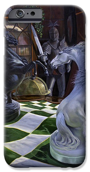 Knight's Magic iPhone Case by Jeanne Newton Schoborg