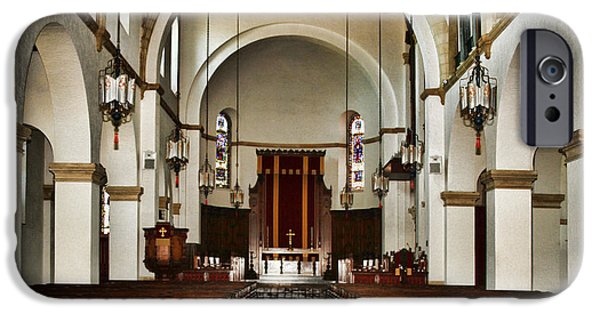 Wedding Bells iPhone Cases - Knowles Memorial Chapel Rollins College 2 by Diana Sainz iPhone Case by Diana Sainz
