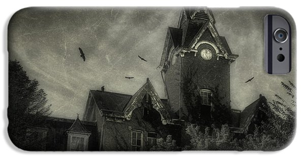 Bang iPhone Cases - Knox County Poorhouse iPhone Case by Tom Mc Nemar