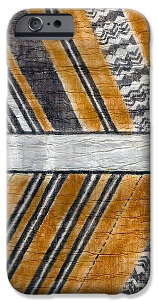 Abstracted Tapestries - Textiles iPhone Cases - Koa Malo iPhone Case by Dalani Tanahy