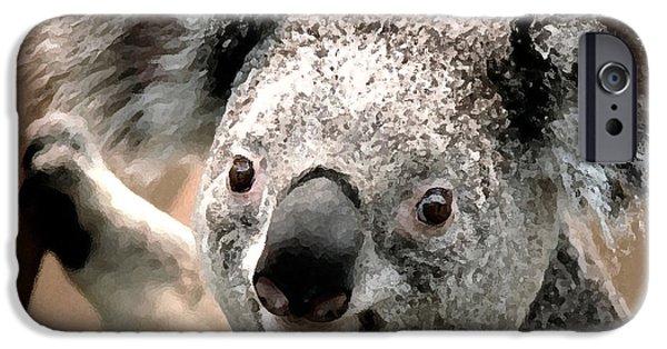 Koala iPhone Cases - Koala Bear iPhone Case by Marvin Blaine