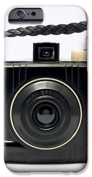 Kodak Baby Brownie iPhone Case by Elena Bouvier