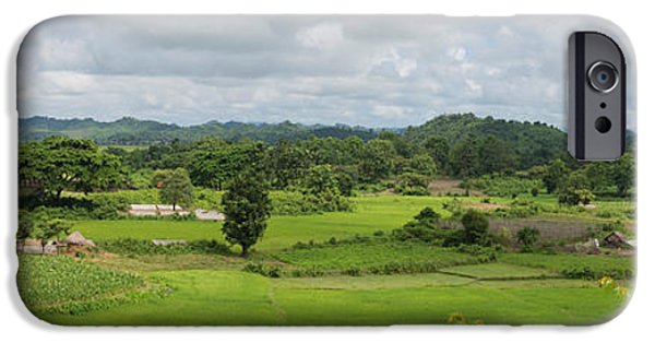 Buddhist iPhone Cases - Koe-thaung Temple Built By King Min iPhone Case by Panoramic Images