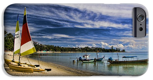 Cheap iPhone Cases - Koh Samui Beach iPhone Case by David Smith