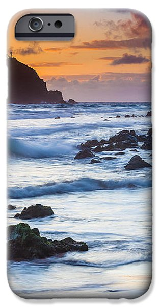 Koki Beach Harmony iPhone Case by Inge Johnsson