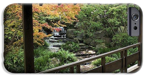 Kobe Photographs iPhone Cases - Kokoen Garden - Himeji City Japan iPhone Case by Daniel Hagerman