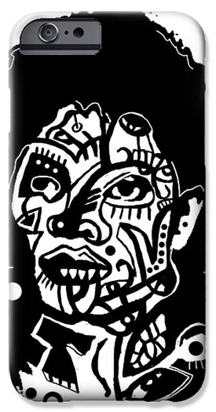 The King Of Pop iPhone Cases - Kop 3 Michael Jackson iPhone Case by Kamoni Khem