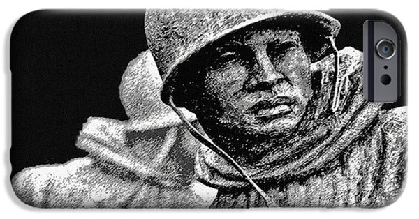 5th Infantry Regiment iPhone Cases - Korean War Veterans Memorial iPhone Case by  Bob and Nadine Johnston
