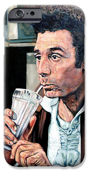 Cosmos Paintings iPhone Cases - Kramer iPhone Case by Tom Roderick
