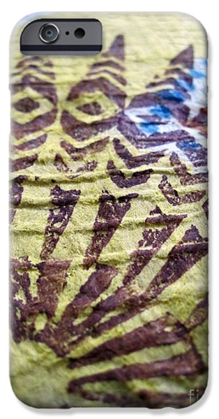 Tribal Tapestries - Textiles iPhone Cases - Kuaokala iPhone Case by Dalani Tanahy