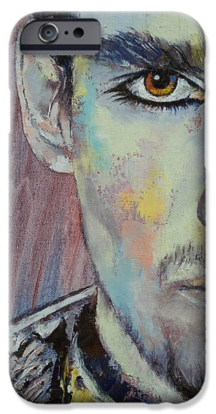 Figures Paintings iPhone Cases - Kubla Kahn iPhone Case by Michael Creese